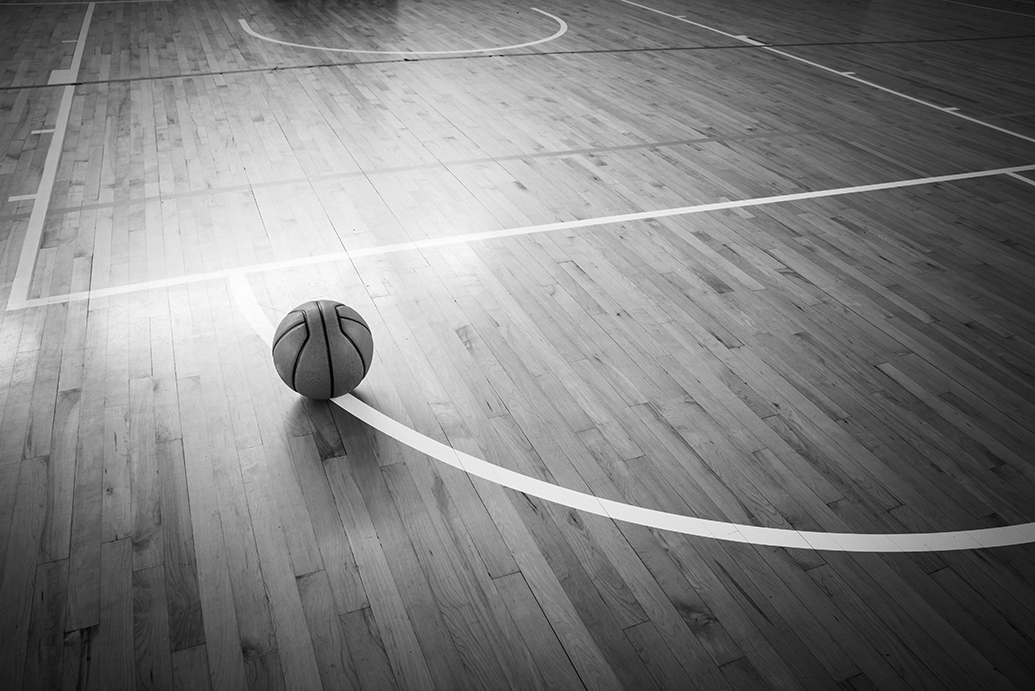 (Stock) Basketball Court
